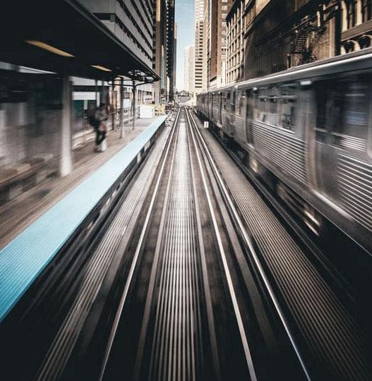 Andén de estación de metro
