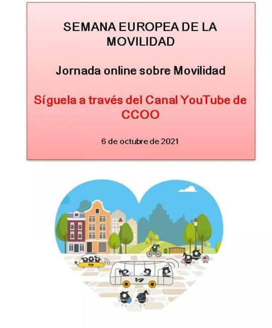 jornada online sobre Movilidad Sostenible