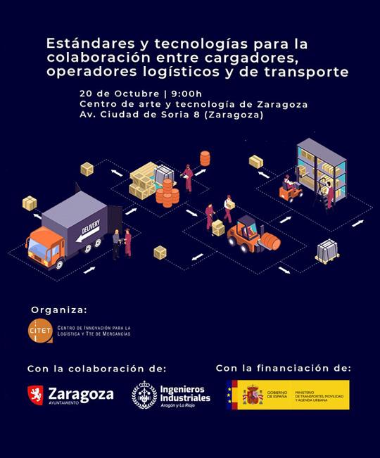 Estándares y tecnologías para la colaboración entre cargadores, operadores logísticos y de transporte