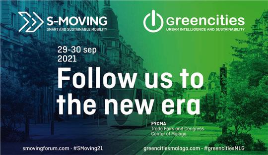 Caretl del evento Greencities / S-Moving