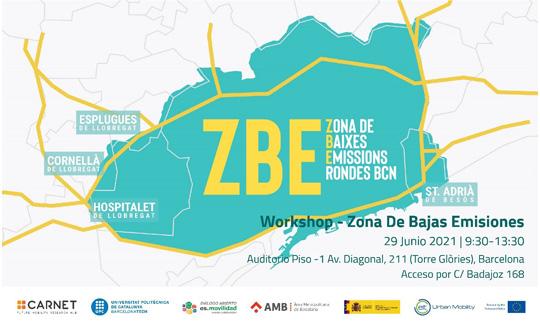 Zona de Bajas Emisiones Rondas de Barcelona
