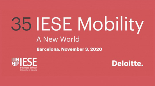 IESE Mobility 2020: New World