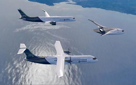 Airbus ZEROe , los primeros aviones comerciales sin emisiones