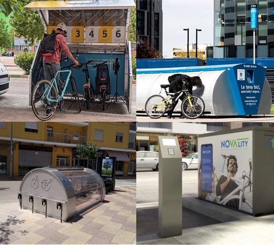 Aparcamiento seguro de bicicletas