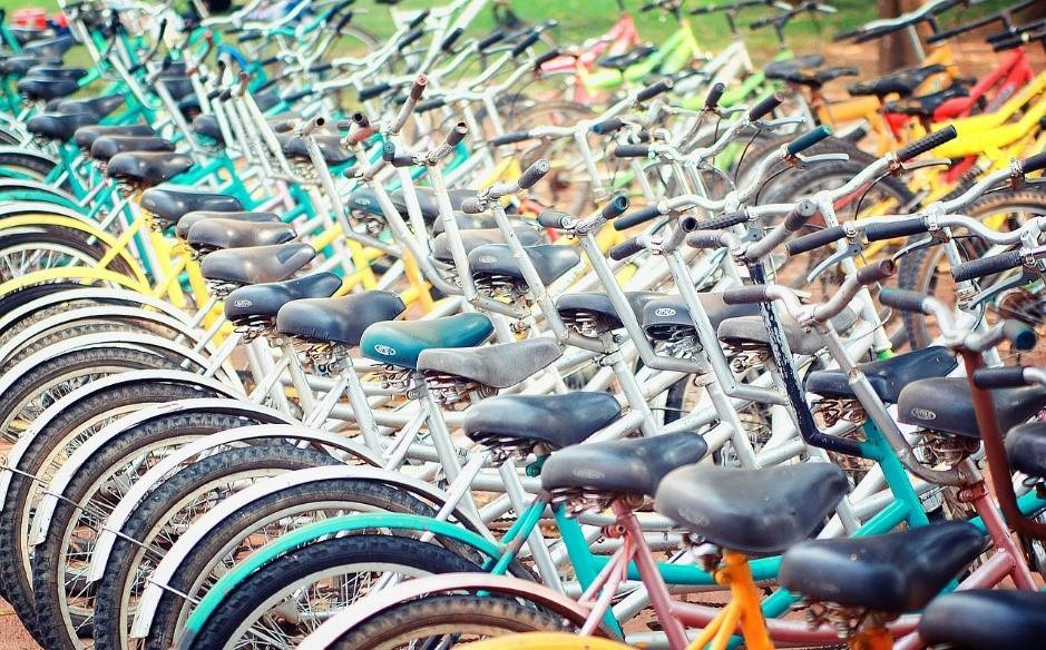 Aparcamiento seguro de bicicletas en la estación Madrid-Chamartín