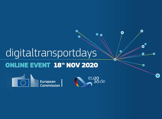 "Encuentro virtual ""Digital Transport Days EU"""