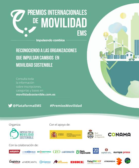 2ª Edición de los Premios Internacionales de Movilidad