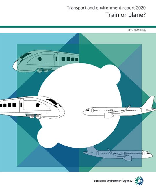 ¿Tren o avión?