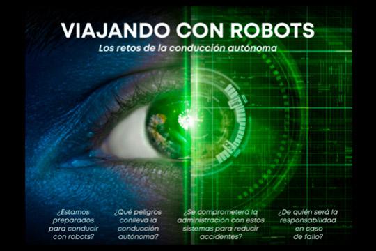 Imagen viajando con robots