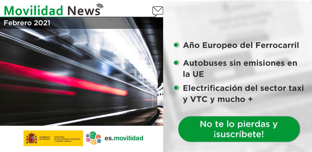 Newsletter Febrero Estrategia de Movilidad 2030